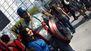 NYCC 2013: Captain America 2 by Kitedot