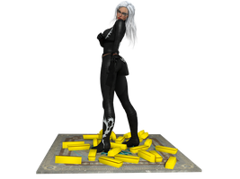 'The Amazing Spiderman' Black Cat figurine XNA/XPS by lezisell