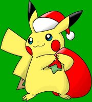 A Pikachu for Christmas by Elvensilver