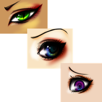 Random eyes XD by vlower