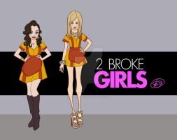 2 BROKE GIRLS by SuperJean83
