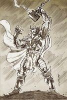 Thor Sketch by dichiara