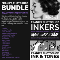 Frank Photoshop Tools Bundle by Frankqbe