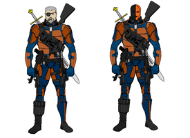 My Deathstroke Suit by Tincholox