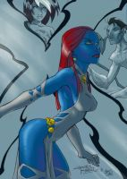 Chris N' Kid's Mystique by slippyninja