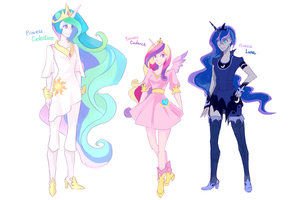 Princesses by s0901