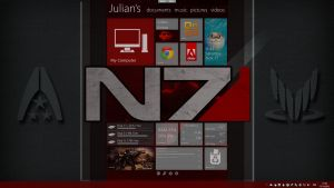 Metro Style N7 Theme by demongodn
