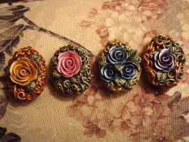 Four lockets by dragonmonster