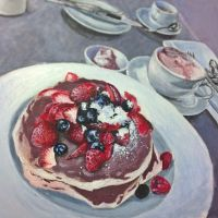 Berry still life by kristinarts