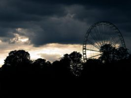London Eye BG _ 001 by neverFading-stock