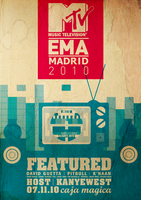MTV EMA Awards Poster' by WesselHaites