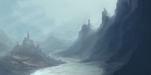 Value + Composition Practice 2 by RighteousYouth