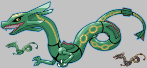 Rayquaza Squiby by krokus00