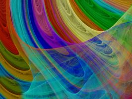 Rainbow Veils by Thelma1