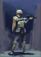 Boba Fett by BobbieGoede