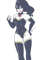 'Crisis on Two Earths' SuperWoman by SoDrawnOut