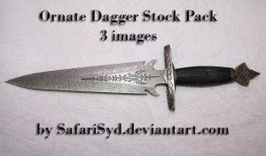 Ornate Dagger Stock Pack - 1 by SafariSyd