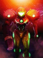 Samus -  Badass Bounty Hunter by TronixGFX