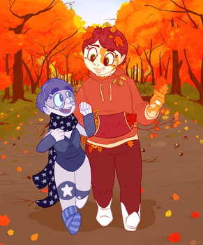 leaves by mare-nubium