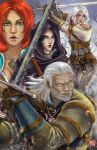 The Witcher by TyrineCarver