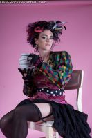 Mad Hatter Tea Party.2 by Della-Stock