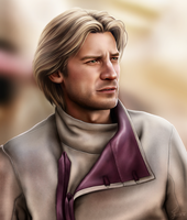 Ser Jaime Lannister by hello-ground