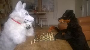 One last chess-game... by Kreativjunkie