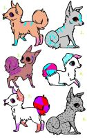 Canine adopts by TwilightLuv10
