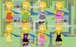 SimpFant - Lisa Outfits by Gazmanafc