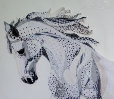 WIP: Horse (head detail) by AnkaZima