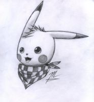 My Pika Pika XD by TheFreeSketcher