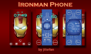 Ironman Phone screesn by jlfarfan