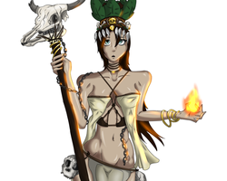 Tribal Priestess by SufferingSquids