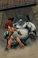 Red Sonja: Berserker 16 by MarkHRoberts