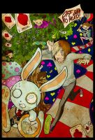 AFI in wonderland by gothfuu