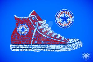 Converse Typography by jmag87