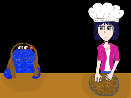 Commission: Cookie Monster Z by PrincessBetty1