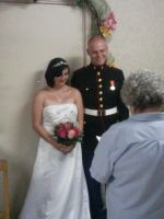 Me and my Marine husband by xXRedRose91Xx