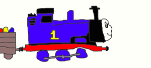 Thomas with Easter Egg Car by Simpsonsfanatic33