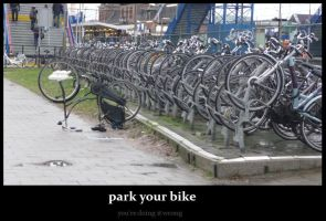 park your bike by sidca