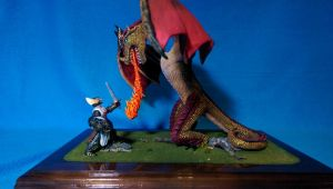 St. George and the Dragon - 6 by TheAmused