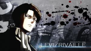 Levi/Rivaille [SNK] Wallpaper by MayAMVPD1356