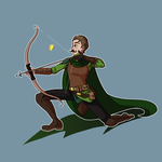 COMMISSION - DnD Ranger by Dragonastra