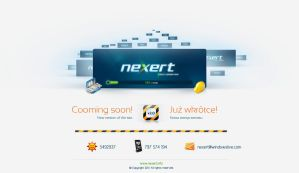 Nexert Site v2.0 -Cooming Soon by Nexert