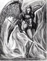 Archangel Sandalphon by Art-of-the-Seraphim