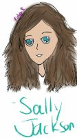 (Young) Sally Jackson by TheTimeLadyDemiwitch