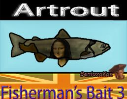 Artrout from Big ol' bass fisherman's bait 3 by BenioxoXox