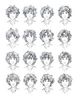 The Silver Eye - Enel Curly Hair Study by lostie815