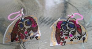 Bunny Penguin Earrings by Stardom7