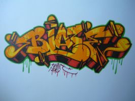 Blaze Graffiti by bLazeovsKy